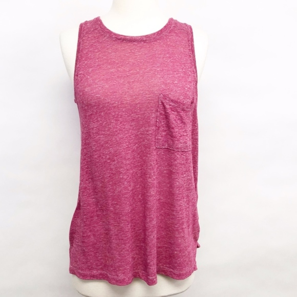Old Navy Tops - 🌈 old navy | linen blend sleeveless top sz S